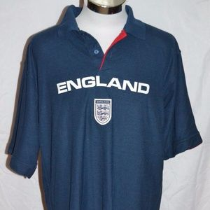 ENGLAND by: Admiral for England Polo Soccer Shirt